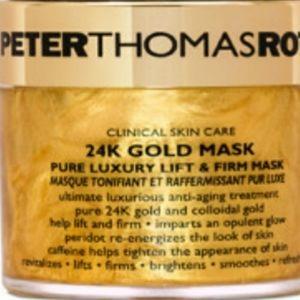 Peter Thomas Roth 24k gold Face mask